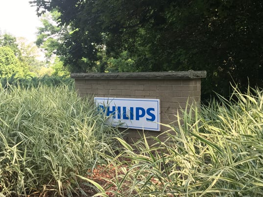 The former Philips property