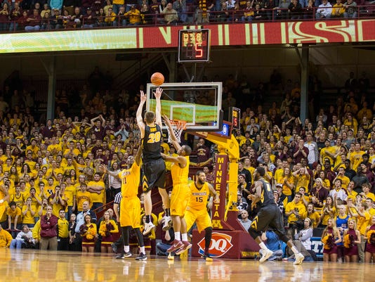 NCAA Basketball: Iowa at Minnesota
