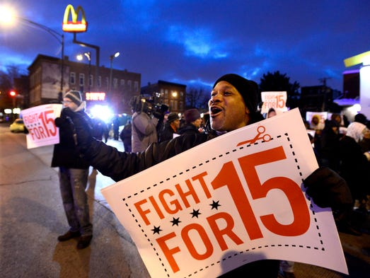 Fast Food Hourly Pay