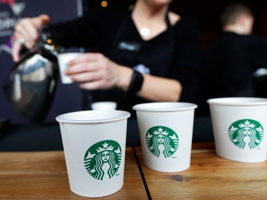 AP Earns Starbucks
