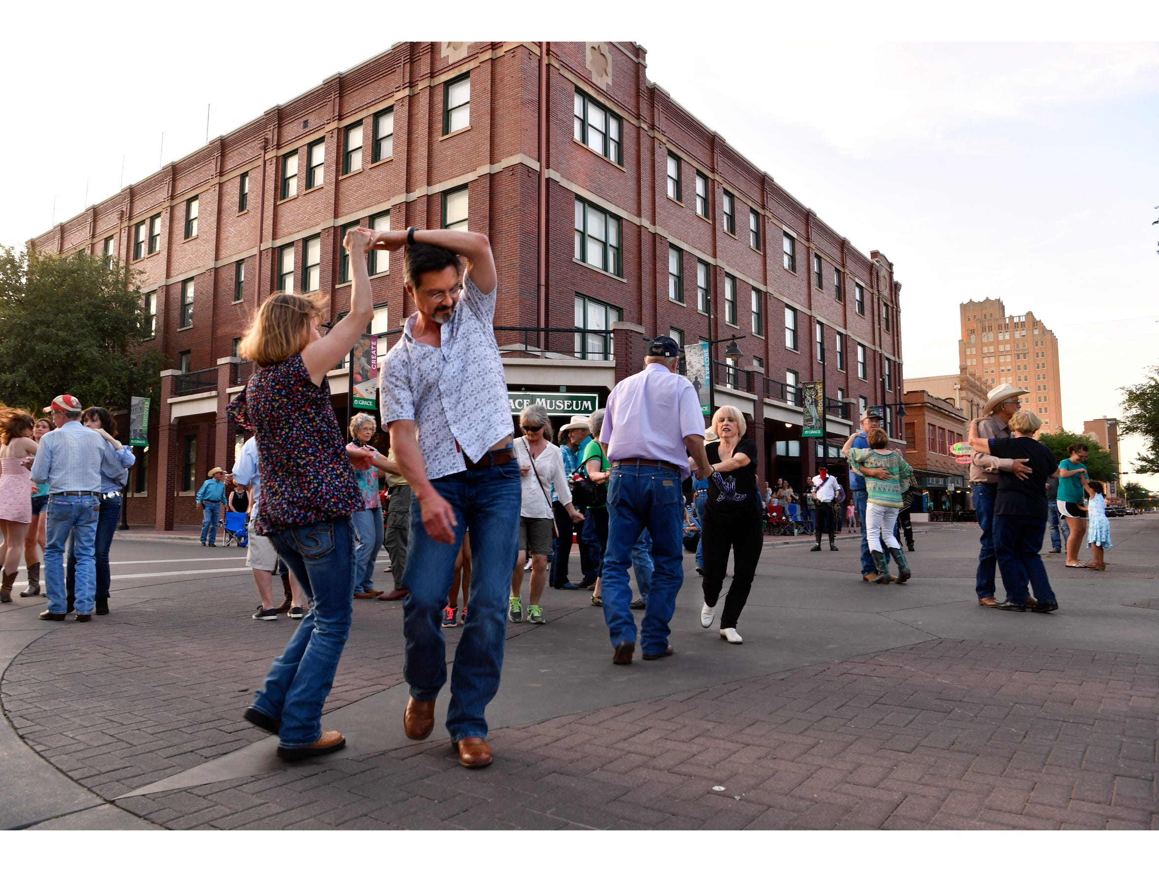 It's two-step time downtown after the annual Western Heritage Classic parade.