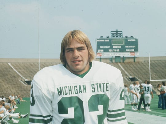 Kirk Gibson was first-team All America as a Michigan