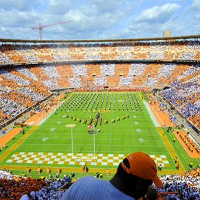 Tennessee fans are once again being asked to '#CheckerNeyland.'