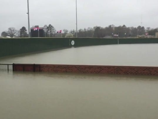WM Baseball Flood