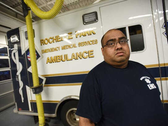 Photo of Captain Ben Varghese, of the Rochelle Park
