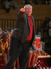 A photo of Mike McManus, longtime women's basketball
