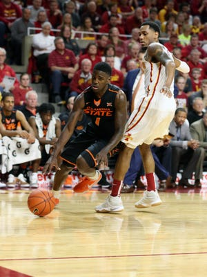 Oklahoma State  guard Jawun Evans will need to be on his game against Michigan in the first round of the NCAA tournament.