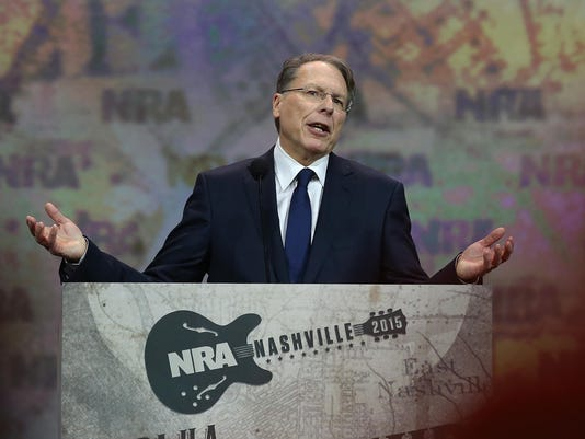 NRA Holds Its Annual Meeting In Nashville