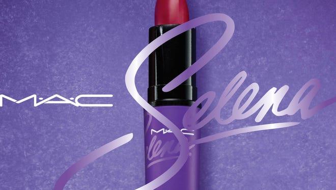 Como La Flor Lipstick, part of the MAC Selena collection