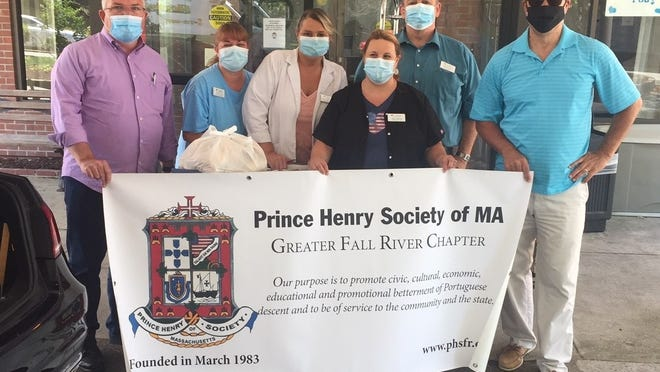 The Prince Henry Society was able to raise enough money to provide food to area nursing homes dealing with COVID-19 on the front line.