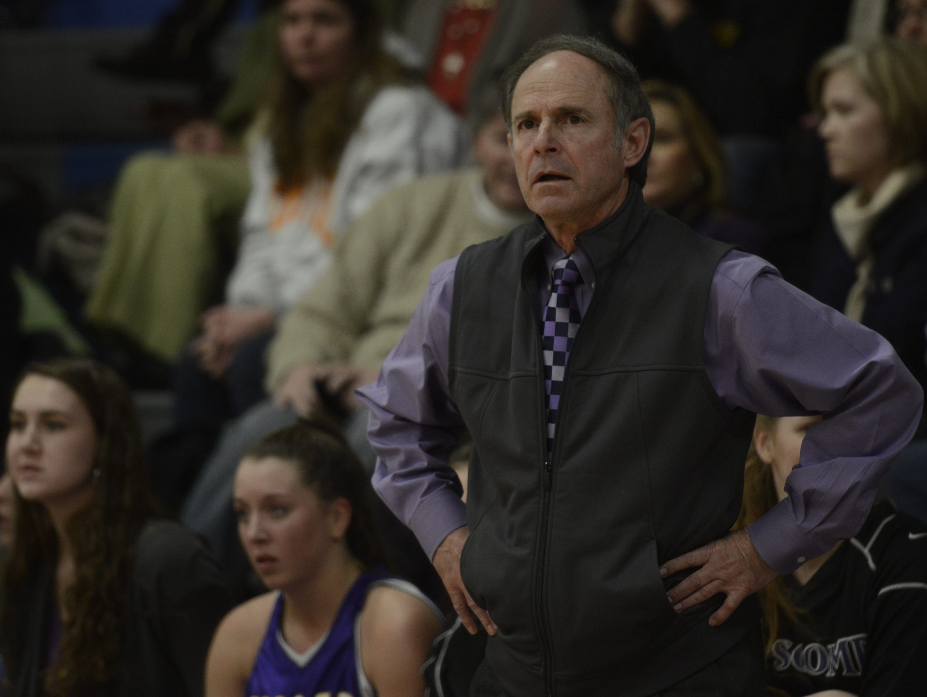 Lipscomb coach Ernie Smith has led the Lady Mustangs to 30 district and region titles, along with a Class AA state title, in 38 season as head coach.