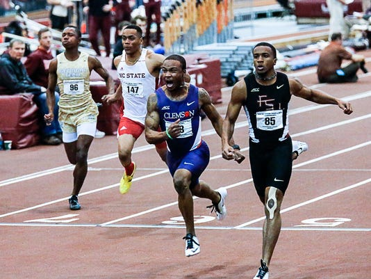 2015 ACC Indoor track and field championships