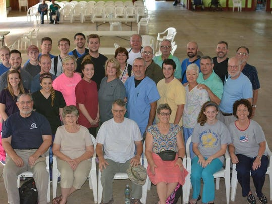 A group of volunteers, some from Campbell Street Church of Christ in Jackson, ran a four-day clinic last month in León, Nicaragua.