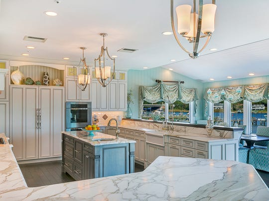 """Located in Point Pleasant, this kitchen embodies the """"Jersey Shore"""" feel."""