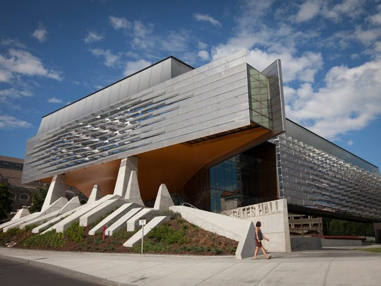 The Bill and Melinda Gates Hall at Cornell University.