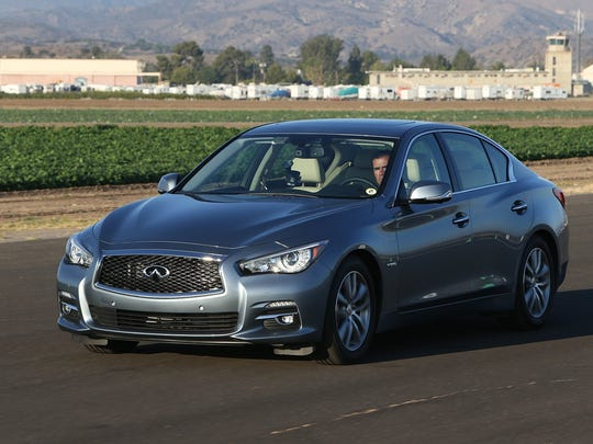 The 2014 Infiniti Q50 S AWD sedan competes with all-wheel-drive, six-cylinder models of the Acura TLX, Audi S4, BMW 335i, Cadillac ATS, Lexus IS and Mercedes C-class.