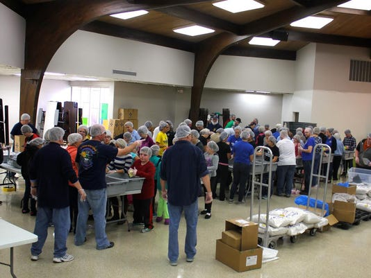 KAHC Volunteers from Livonia gathered to help feed the hungry!.jpg