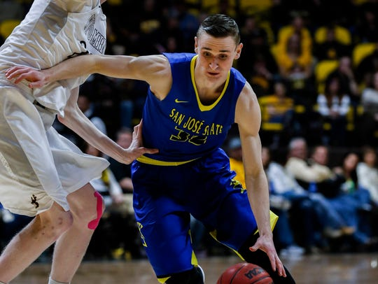 San Jose State Spartans forward Ryan Welage