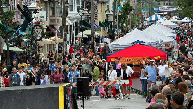 Brady St. will be packed Saturday for the Brady Street Festival.