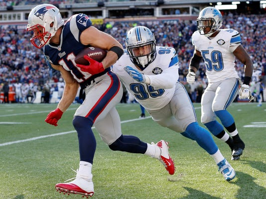 NFL: Detroit Lions at New England Patriots