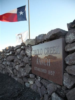 A Texas state flag is flown at half-staff at the Cibolo Creek Ranch near Shafter, Texas on Sunday. Justice Antonin Scalia Scalia was found dead Saturday morning at the private residence in the Big Bend area of West Texas.