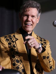 "Artist Randy Travis speaks at a press conference before his ""1 Night. 1 Place. 1 Time.: A Heroes and Friends Tribute to Randy Travis"" at Bridgestone Arena on Wednesday, Feb. 8, 2017, in Nashville, Tenn."