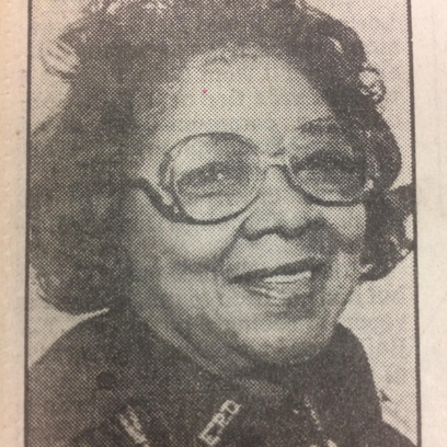 Juanita Gregory was the first black female officer