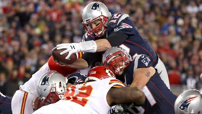 Tom Brady and the New England Patriots meet the Kansas City Chiefs on Sept. 7.