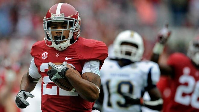 Christion Jones and the Alabama Crimson Tide will be either No. 1 or No. 2 in Athlon Sports preseason Top 25 poll.