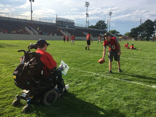 Victory Day at Port Huron High School was held for