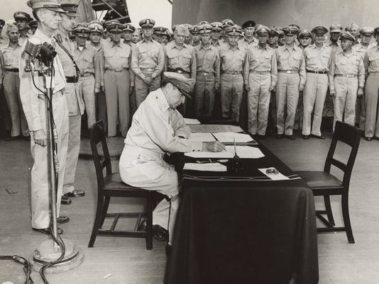 Remember Japan's formal surrender 70 years ago to end WWII