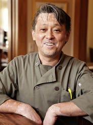 Chef Nobuo Fukuda.