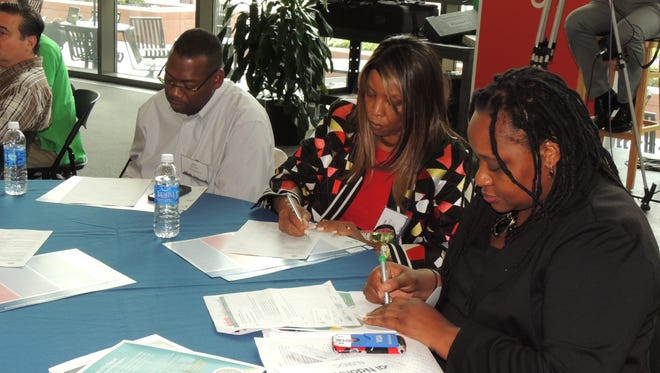 New Jersey Small Business Development Centers are offering several services and enrichment opportunities to entrepreneurs statewide. Pictured is a 2014 event at the New Jersey Institute of Technology in Newark.