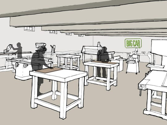 """""""The Tube Factory"""" will have an extensive makerspace,"""