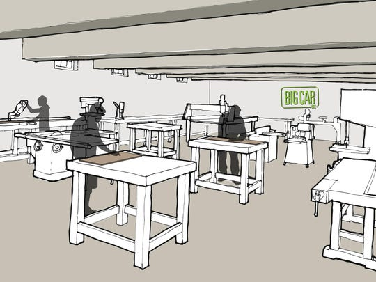 """The Tube Factory"" will have an extensive makerspace,"