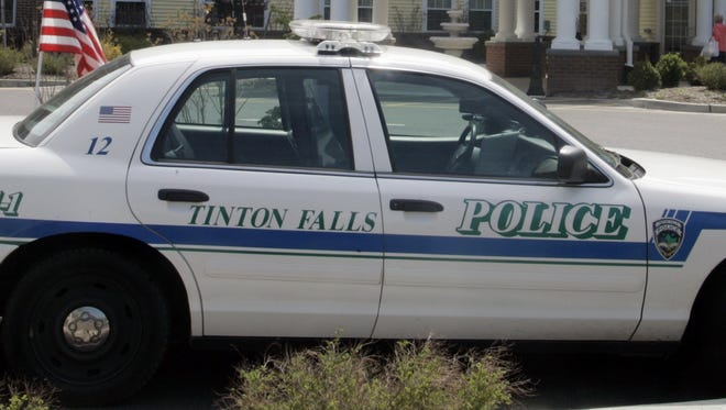 A Tinton Falls police car is seen in this file photo.