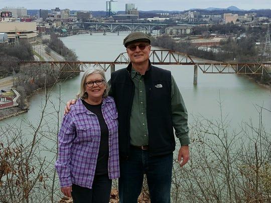 Barbara Nicodemus and her husband, Randy Kurth, of