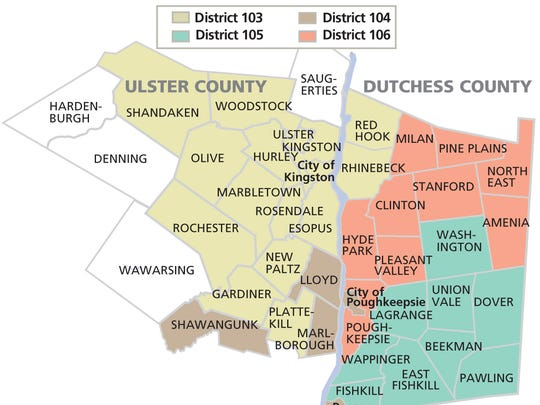 State Assembly districts