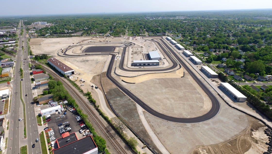 M1 Concourse Brings Car Condos Racetrack To Pontiac
