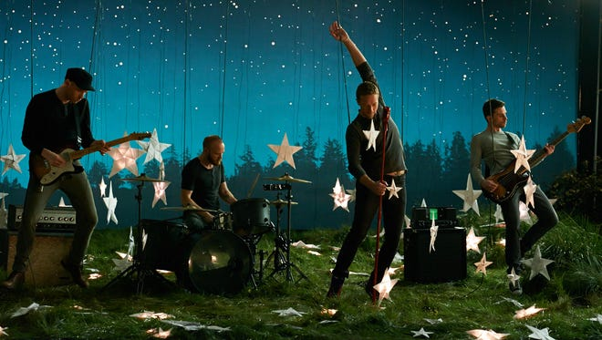 """Coldplay returns May 19 with sixth studio album """"Ghost Stories."""""""