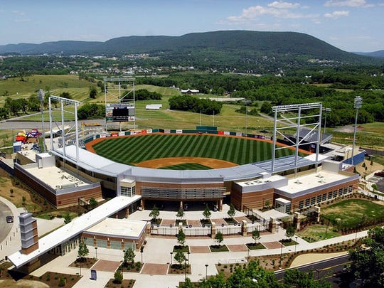 Penn State's Medlar Field at Lubrano Park, pictured days before its opening in 2006, is home to the State College Spikes minor league baseball team.