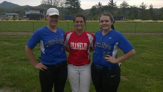 Smoky Mountain's Micayla McCoy, Franklin's Kaylee Corbin and Smoky Mountain's Katie Fortner have committed to play college softball for Georgia Highlands.