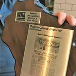Oconto County Reporter editor receives two WNA awards