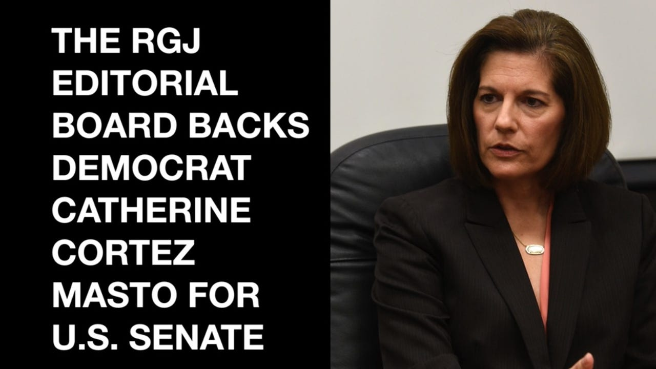 Democrat Catherine Cortez Masto is running for Nevada's