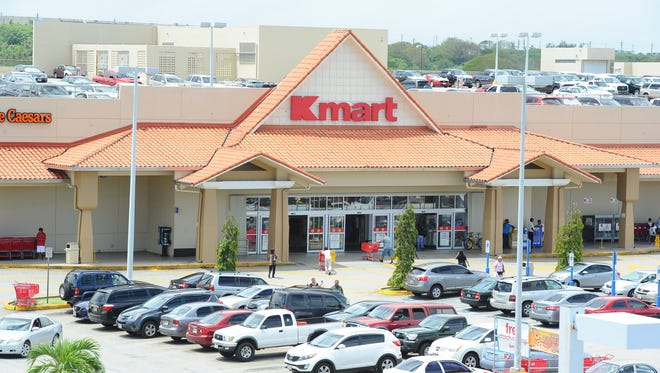 Guam's Kmart is shown in this file photo.