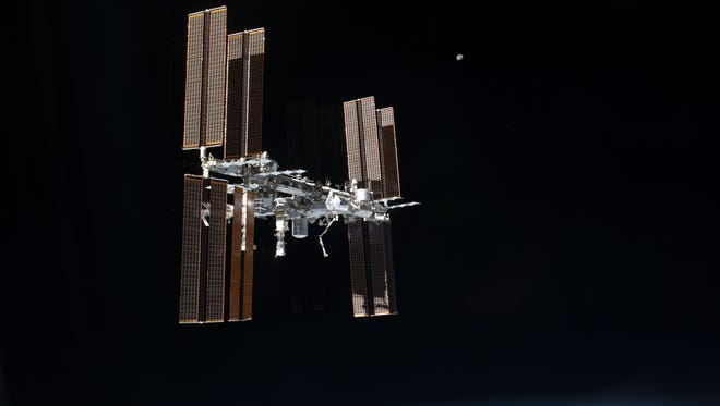 The International Space Station. July 2011