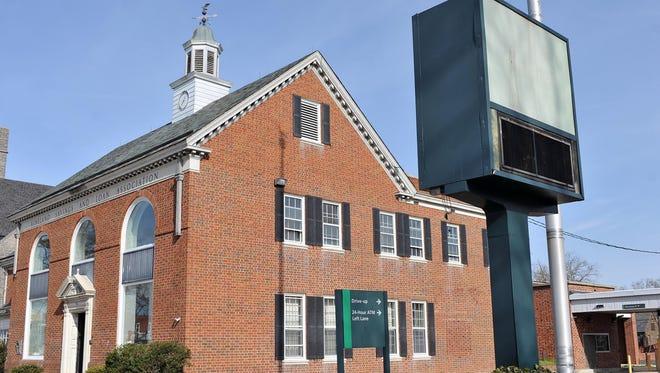 The former Vineland Savings and Loan Association at 818 E. Landis Avenue.
