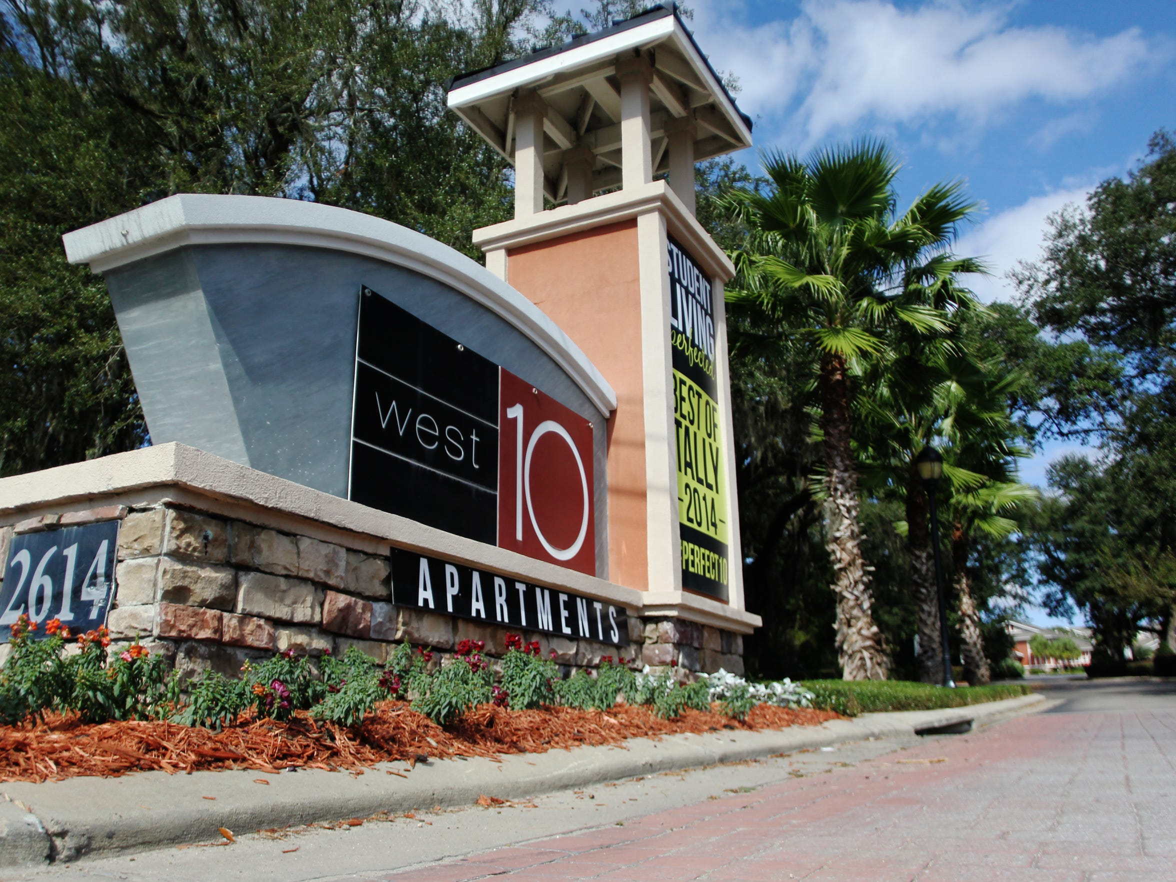 The West 10 apartments on West Tennessee Street received more noise complaints the last two years than any other apartment complex in Tallahassee.