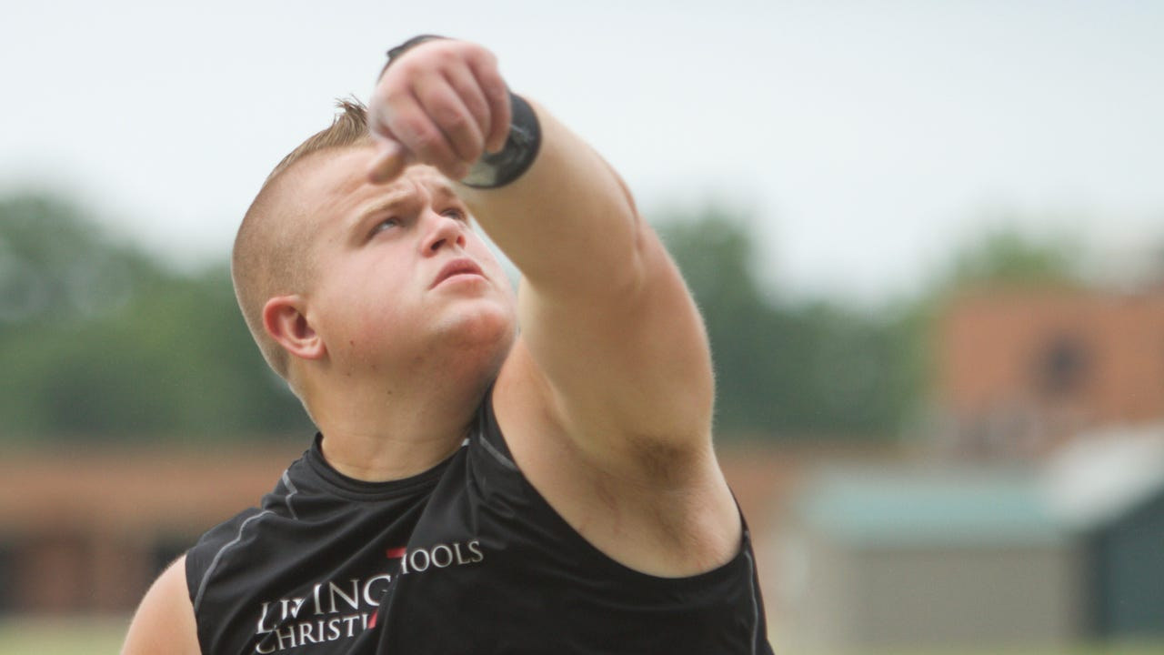 Paxton Titus of Livingston Christian is the Livingston County boys' track and field Athlete of the Year. He talks about preparing for college throwing, wanting to be a coach some day and a particularly nervous moment at the state meet.