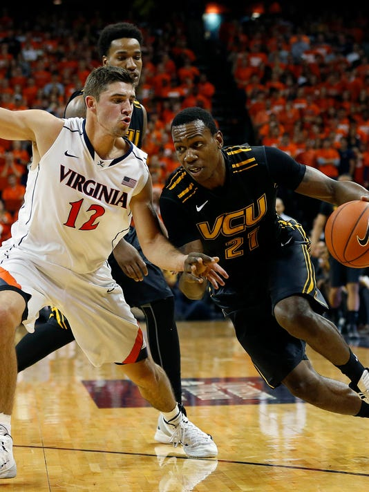 af5c46b6361 Late three lifts No. 14 VCU over No. 25 Virginia